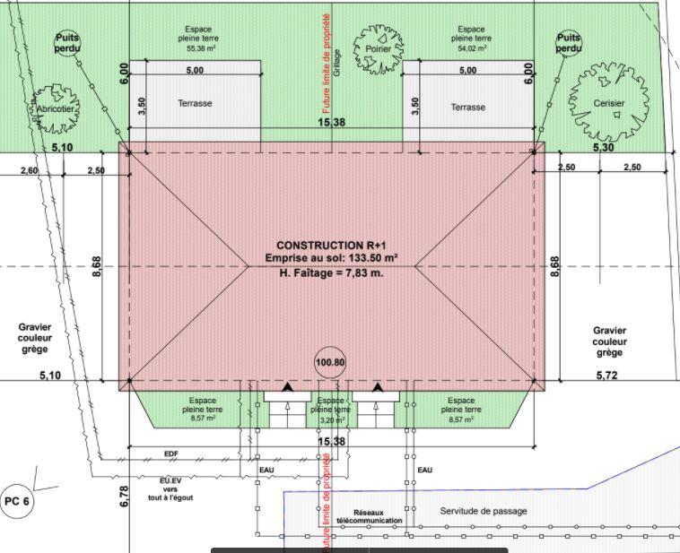 Terrains du constructeur TRADICONFORT 69 • 556 m² • BEYNOST