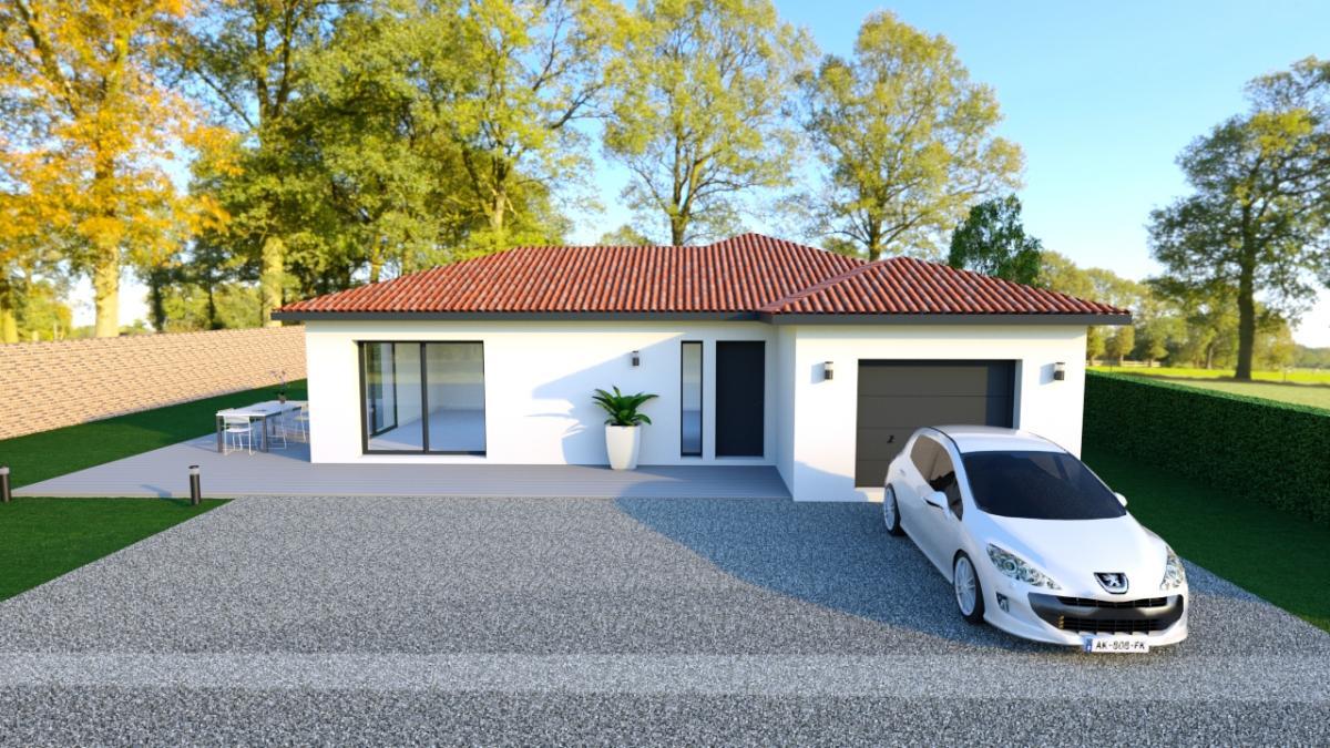 Maisons du constructeur TRADICONFORT 69 • 90 m² • SAINT GEORGES DE RENEINS