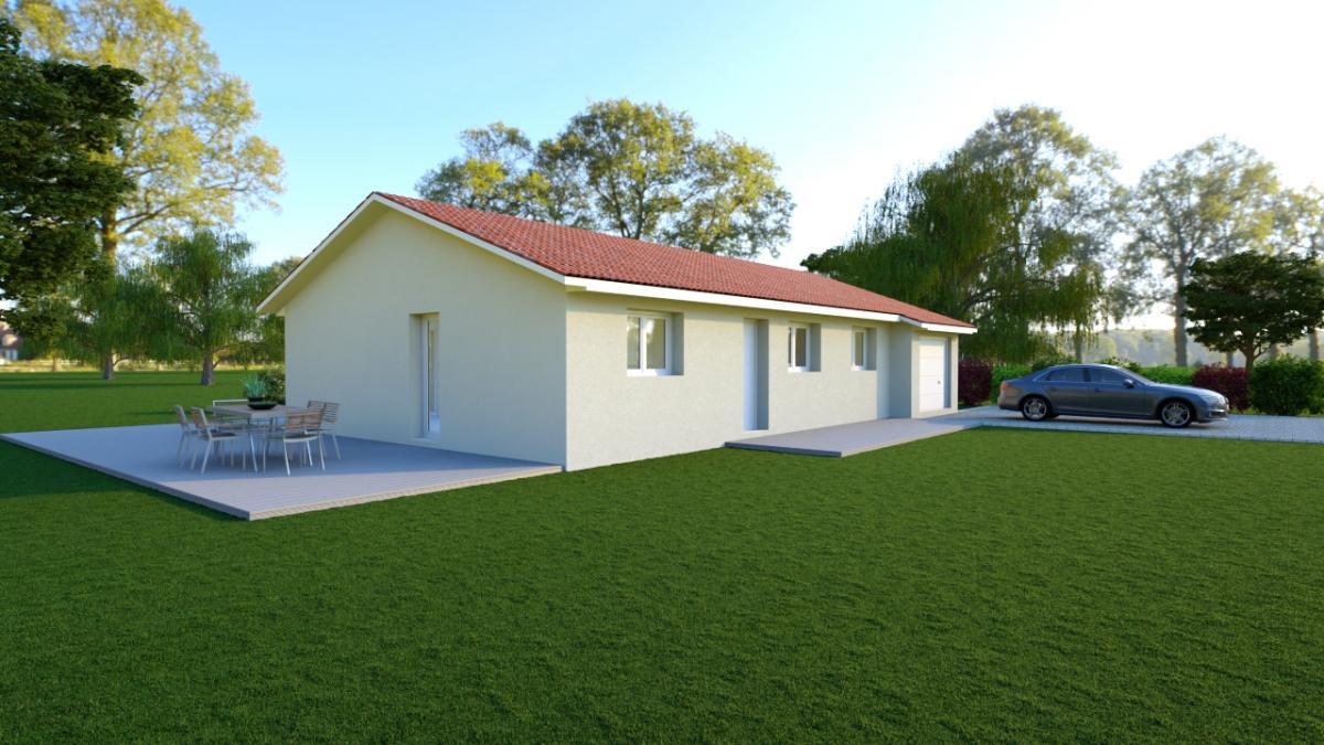 Maisons du constructeur TRADICONFORT 69 • 90 m² • COGNY