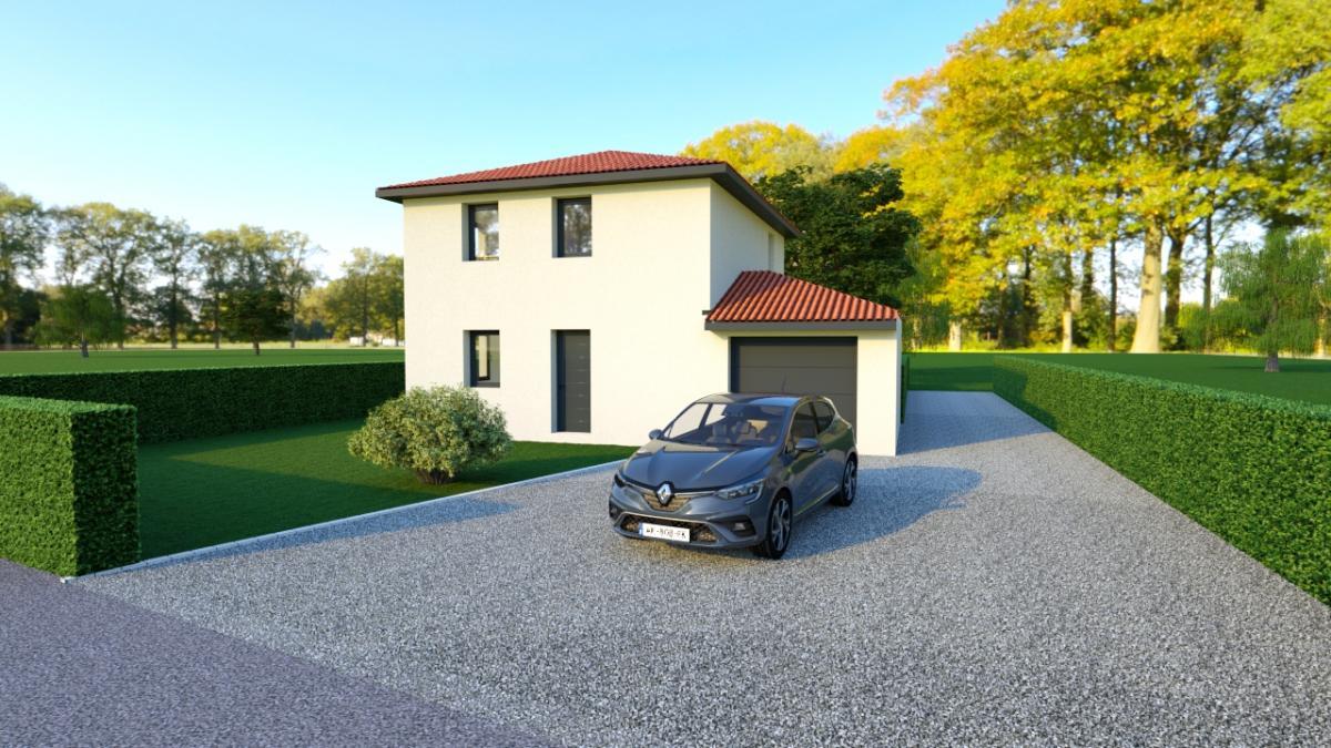 Maisons du constructeur TRADICONFORT 69 • 90 m² • LES OLMES