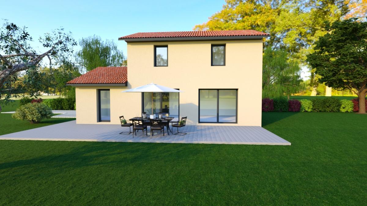 Maisons du constructeur TRADICONFORT 69 • 100 m² • BELLEVILLE