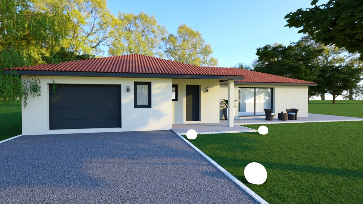 Maisons du constructeur TRADICONFORT 69 • 120 m² • ARNAS