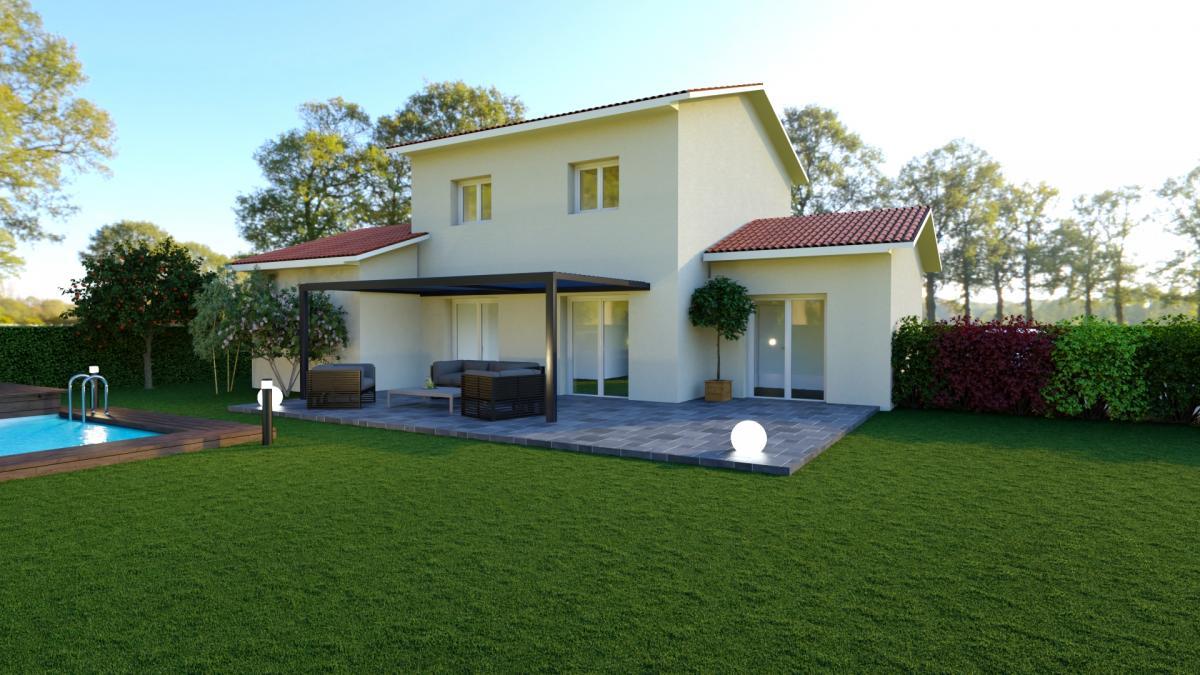 Maisons du constructeur TRADICONFORT 69 • 100 m² • SAINT GEORGES DE RENEINS