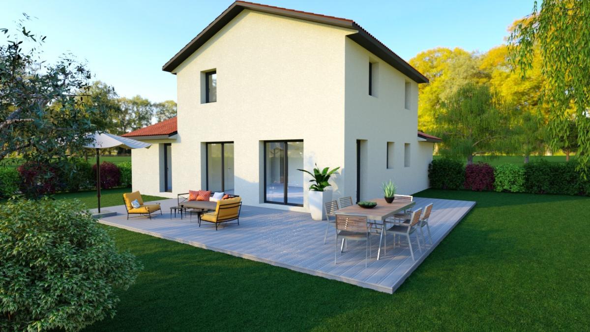Maisons du constructeur TRADICONFORT 69 • 110 m² • COGNY