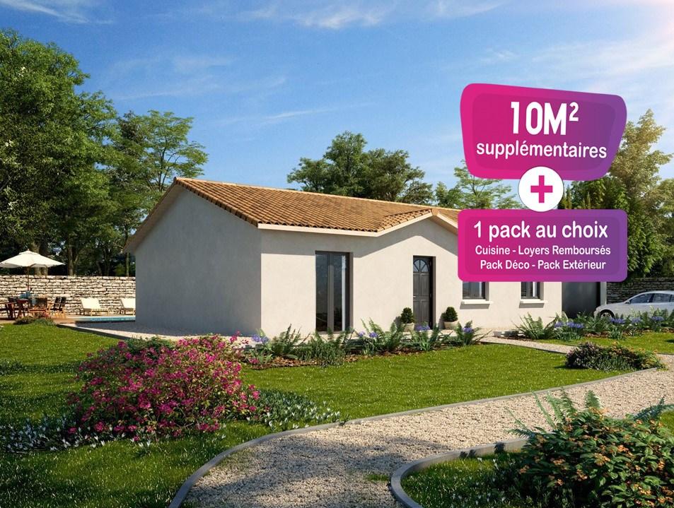 Maisons + Terrains du constructeur MAISONS PUNCH • 92 m² • CLERMAIN