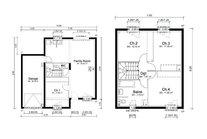 Maisons + Terrains du constructeur MAISONS PUNCH • 91 m² • PRISSE