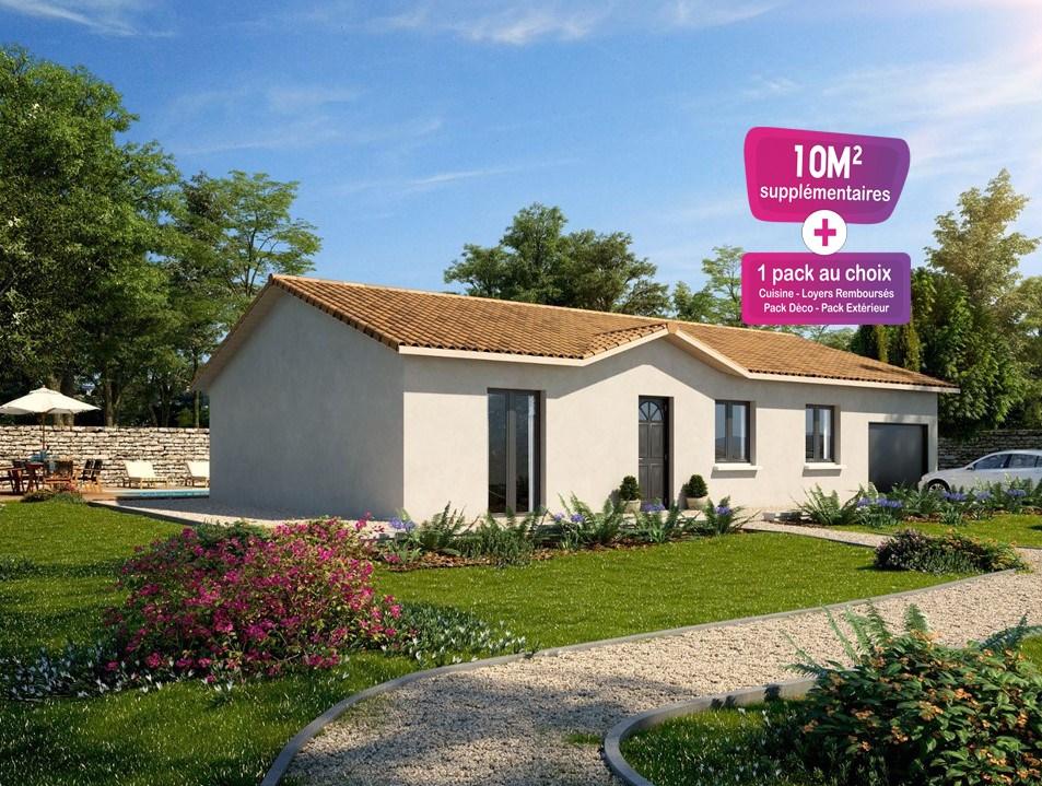 Maisons + Terrains du constructeur MAISONS PUNCH • 78 m² • LA CHAPELLE DE GUINCHAY