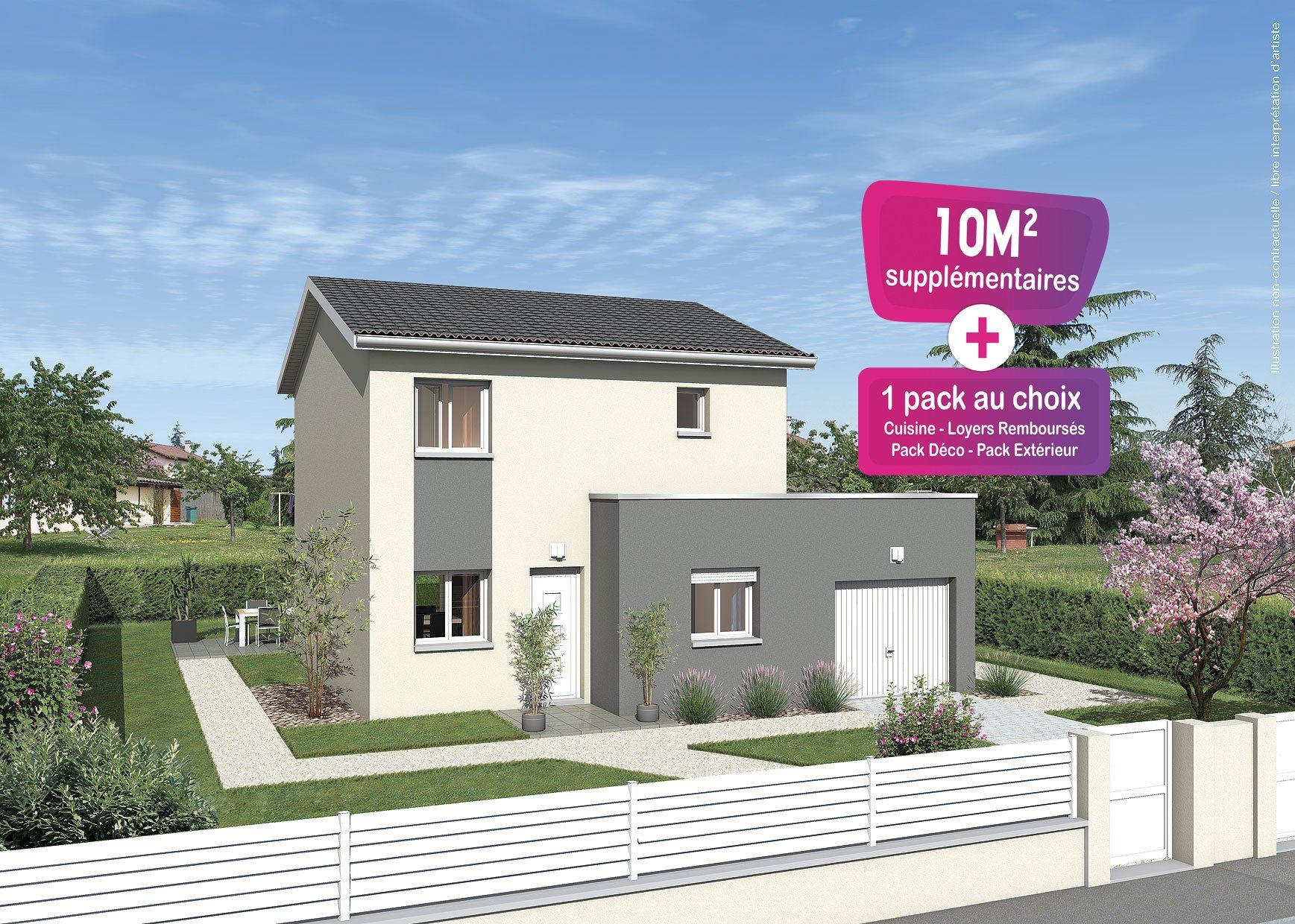 Maisons + Terrains du constructeur MAISONS PUNCH • 91 m² • VERZE