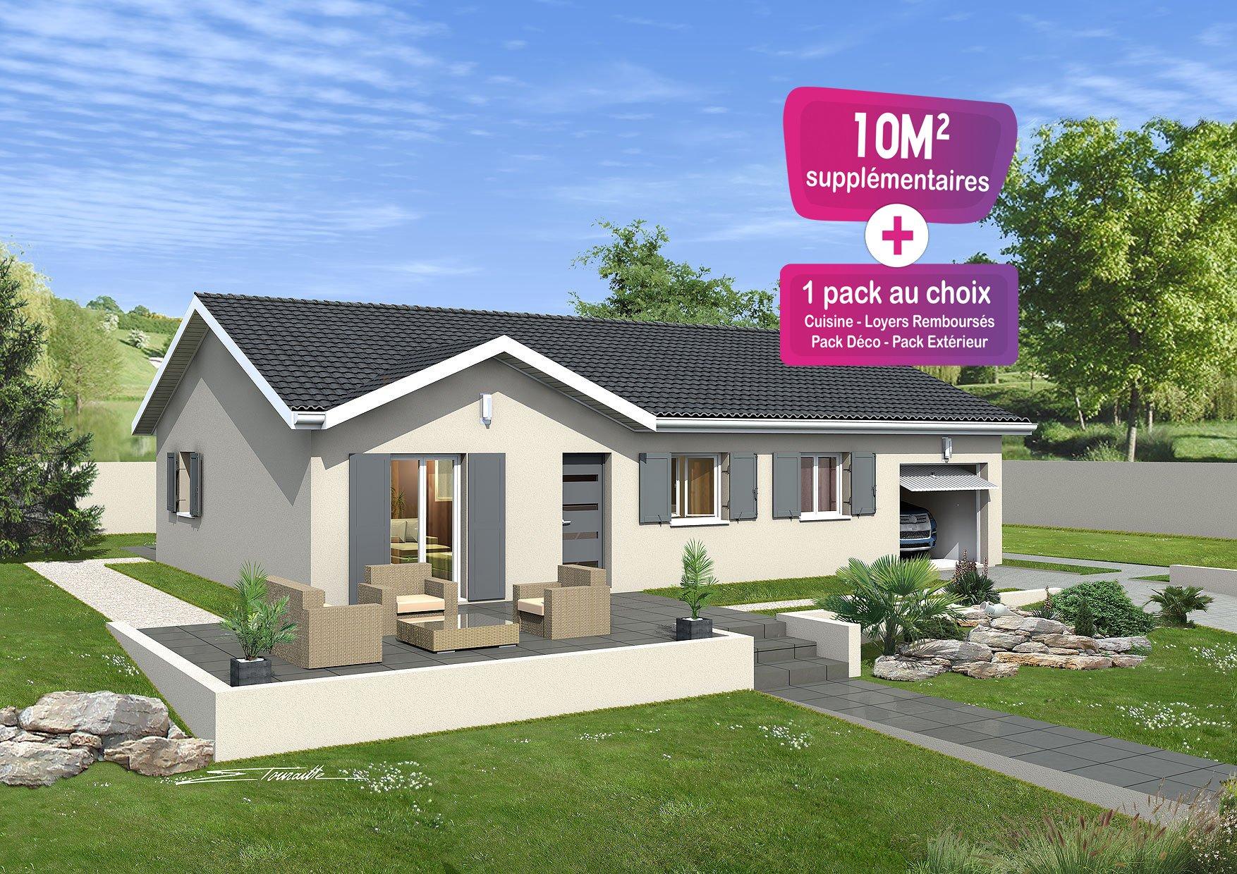 Maisons + Terrains du constructeur MAISONS PUNCH • 89 m² • PRISSE