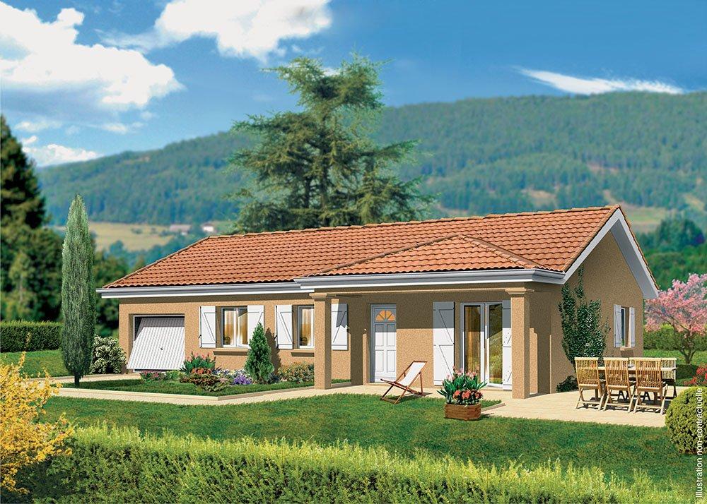 Maisons + Terrains du constructeur MAISONS PUNCH • 89 m² • LOUHANS