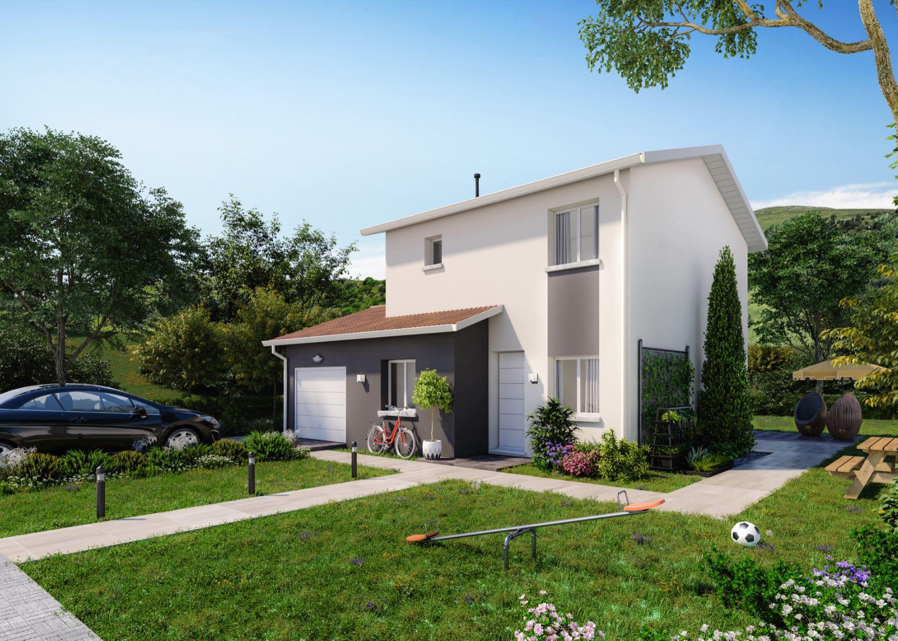 Maisons + Terrains du constructeur MAISONS PUNCH • 91 m² • CUISERY
