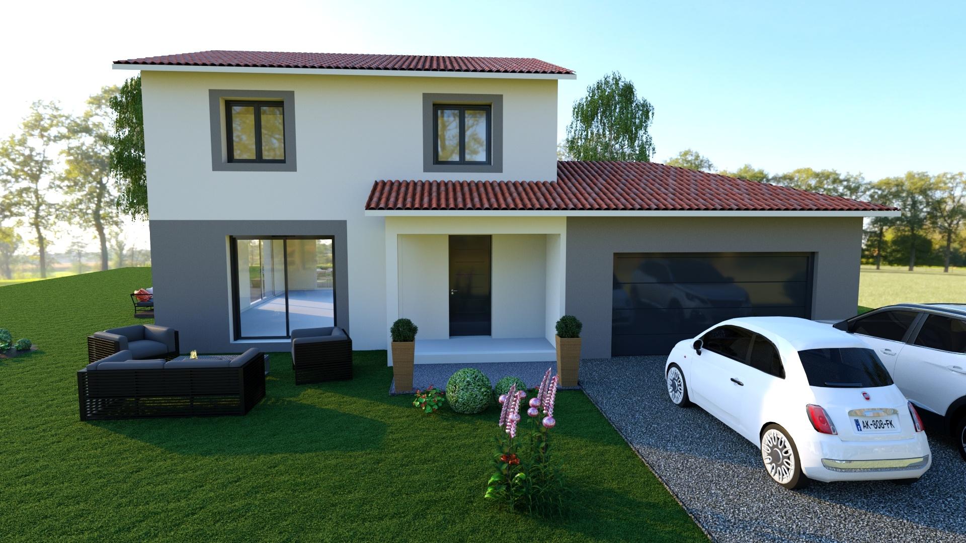 Maisons + Terrains du constructeur MAISONS PUNCH • 107 m² • ROZIER EN DONZY