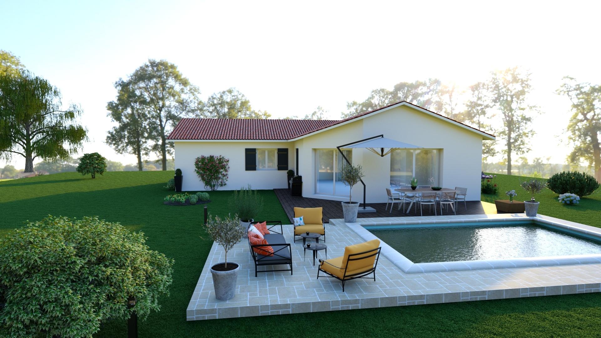 Maisons + Terrains du constructeur MAISONS PUNCH • 105 m² • CHAMPDIEU