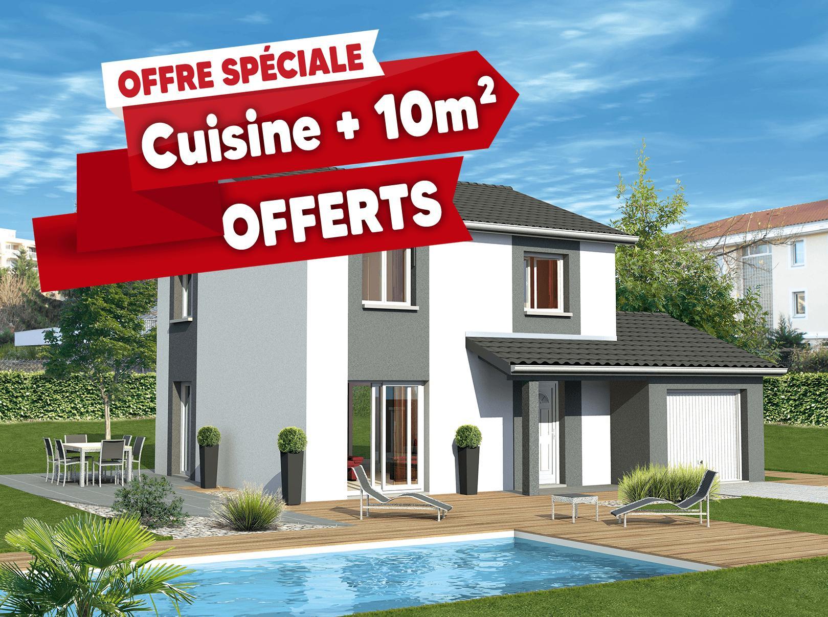 Maisons + Terrains du constructeur MAISONS PUNCH • 93 m² • SAINT ANDRE LE PUY