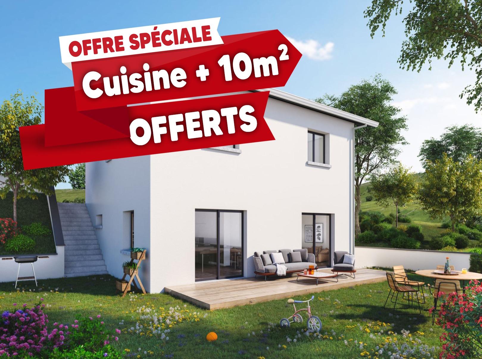 Maisons + Terrains du constructeur MAISONS PUNCH • 92 m² • LA RICAMARIE