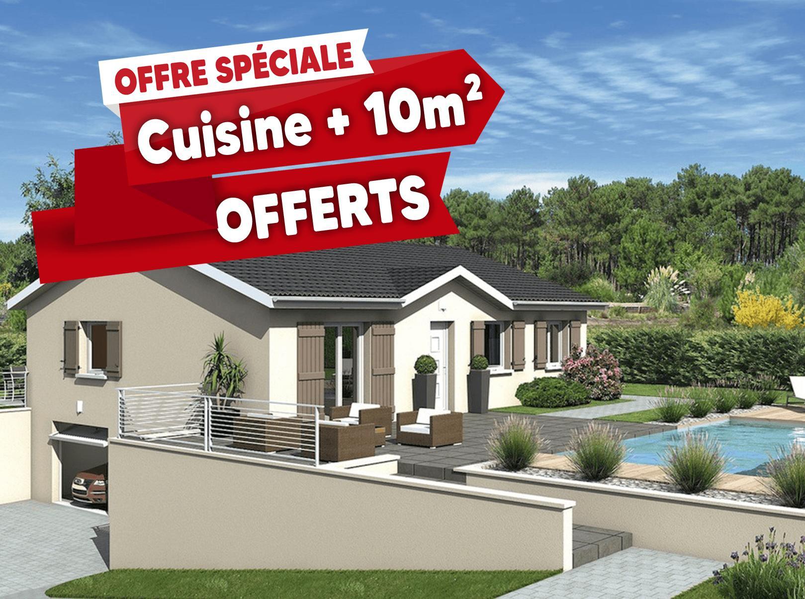 Maisons + Terrains du constructeur MAISONS PUNCH • 100 m² • FRAISSES