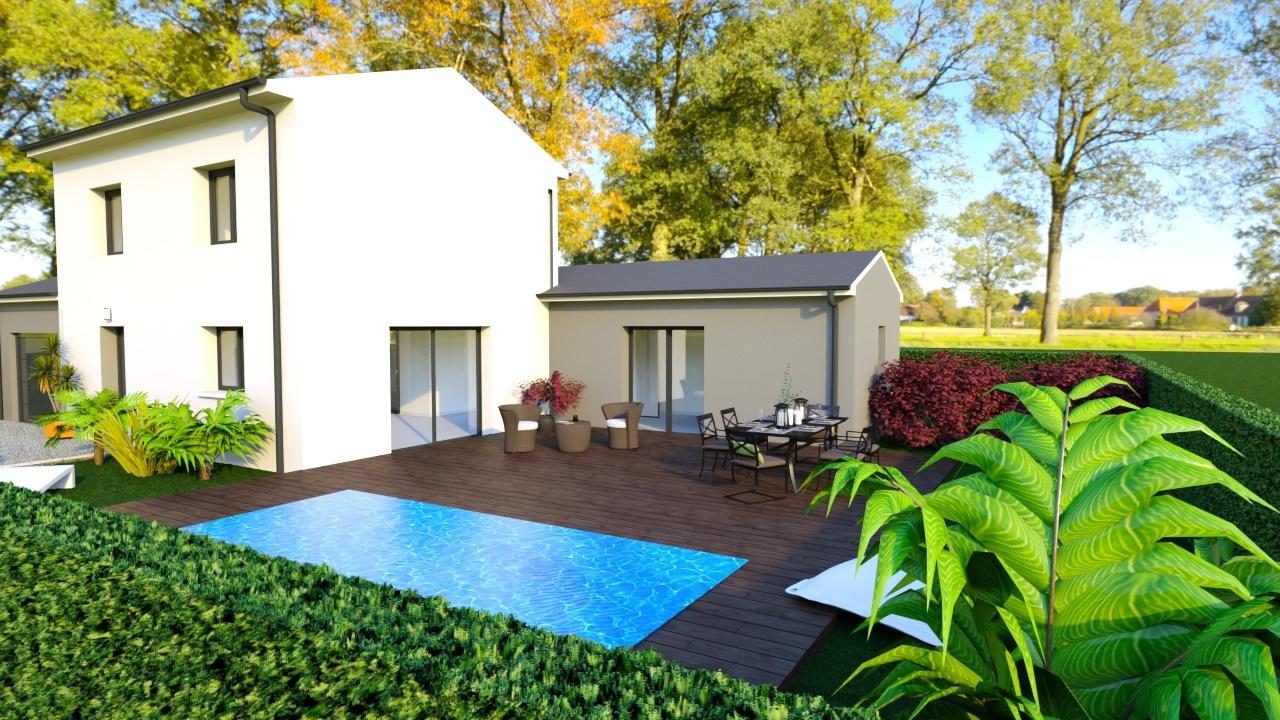 Maisons + Terrains du constructeur MAISONS PUNCH • 102 m² • AGNIN
