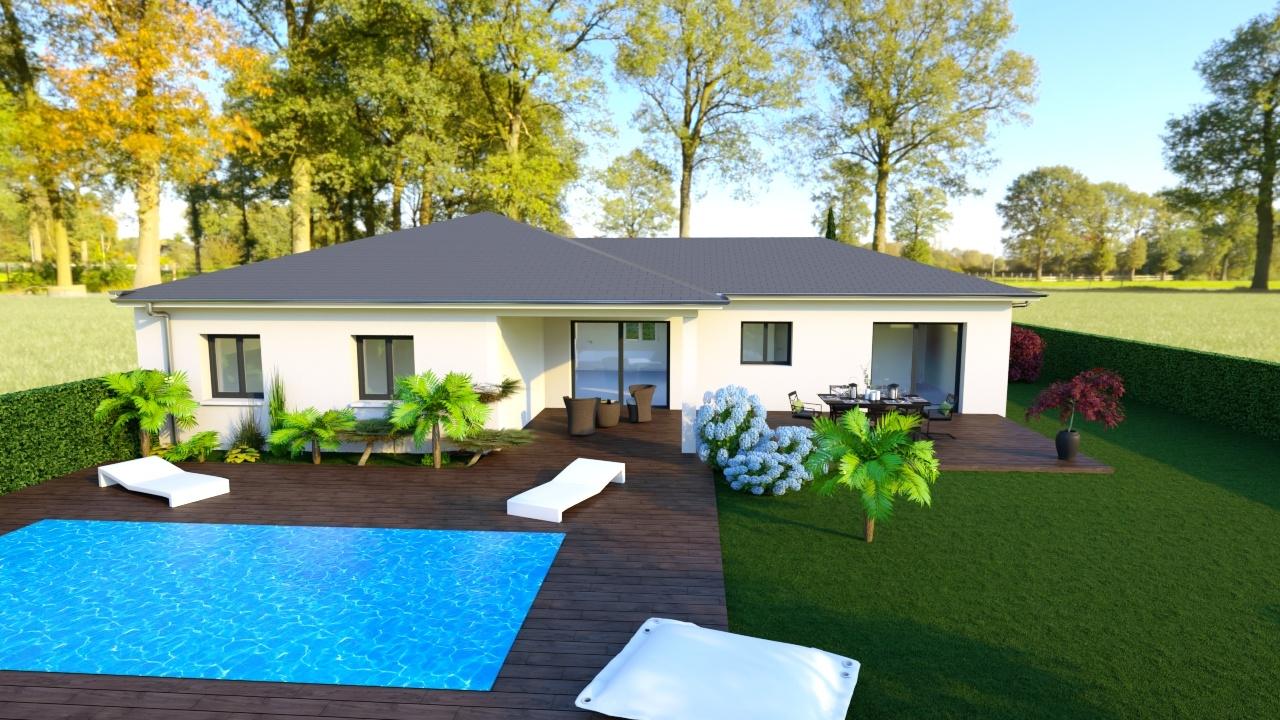 Maisons + Terrains du constructeur MAISONS PUNCH • 104 m² • AGNIN