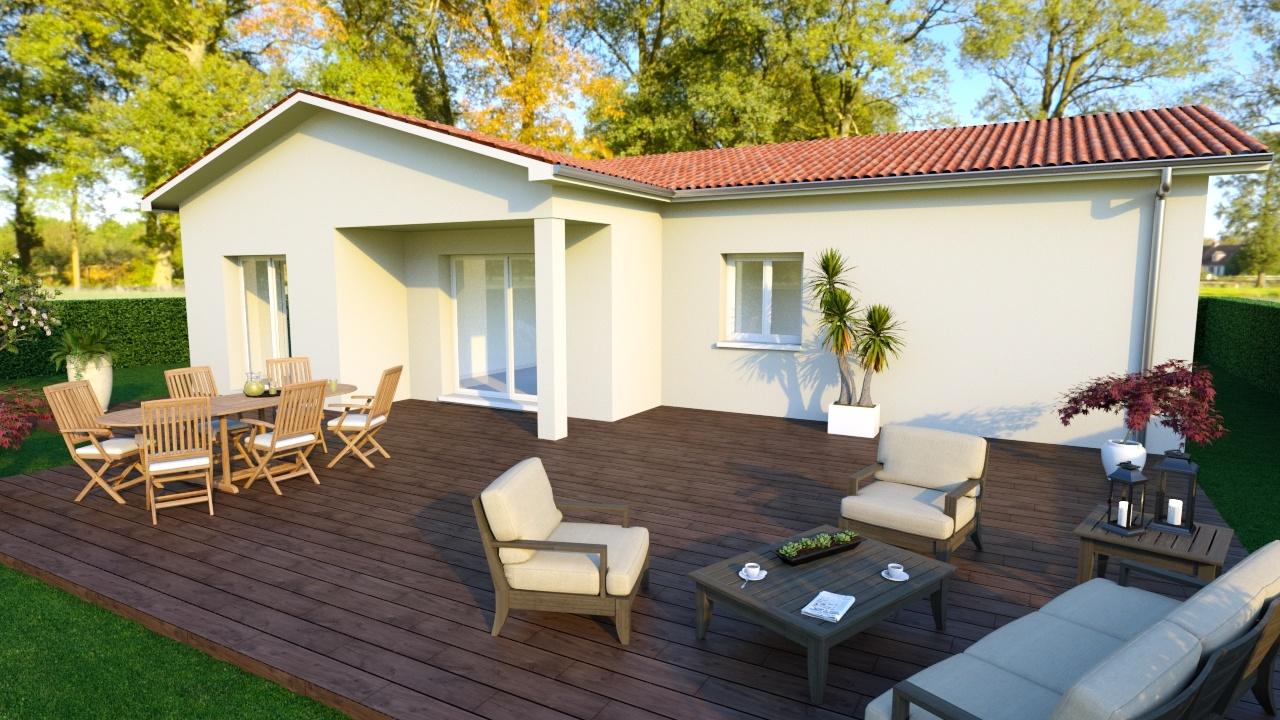 Maisons + Terrains du constructeur MAISONS PUNCH • 83 m² • AGNIN