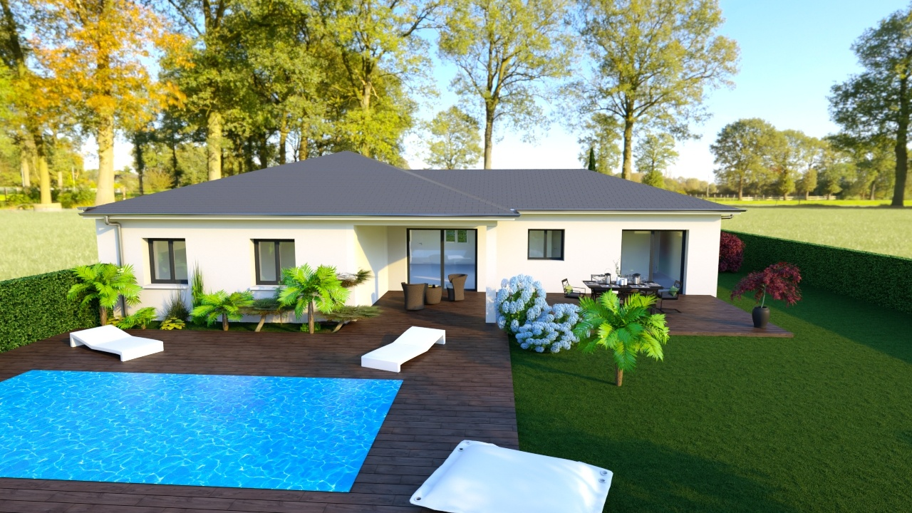 Maisons + Terrains du constructeur MAISONS PUNCH • 110 m² • RIVE DE GIER