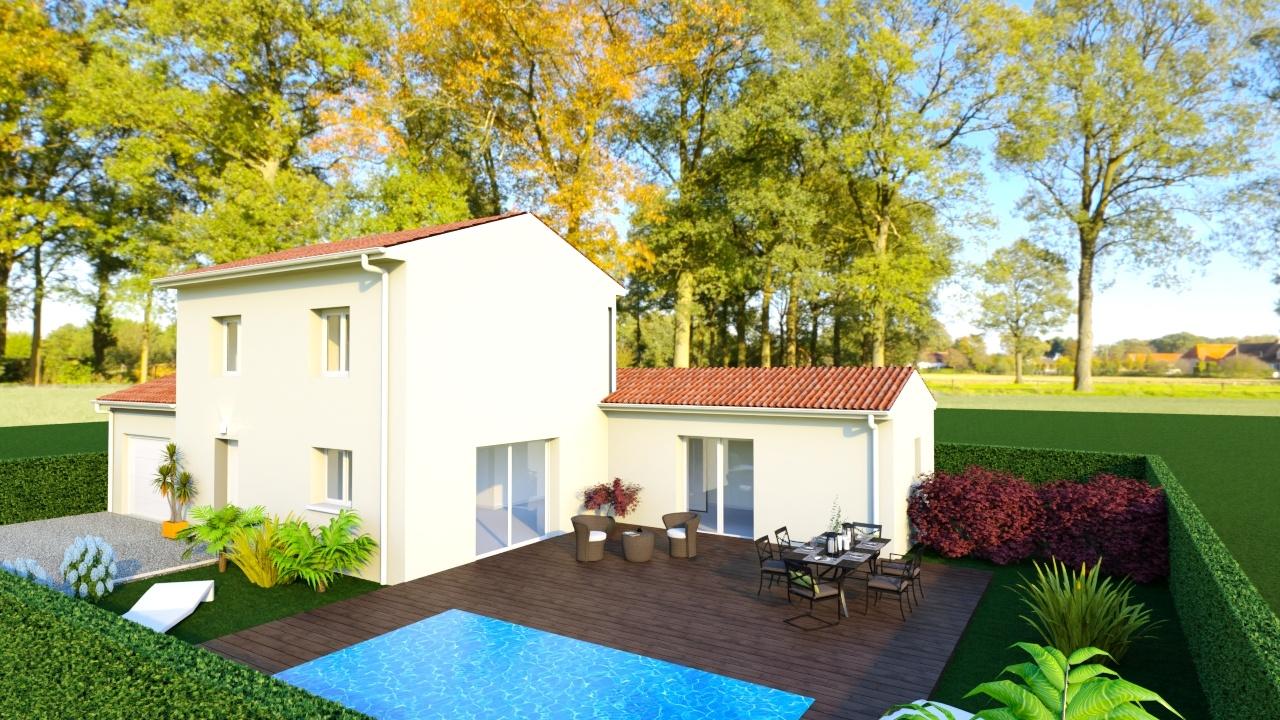 Maisons + Terrains du constructeur MAISONS PUNCH • 102 m² • JARCIEU