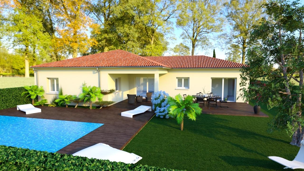 Maisons + Terrains du constructeur MAISONS PUNCH • 98 m² • JARCIEU