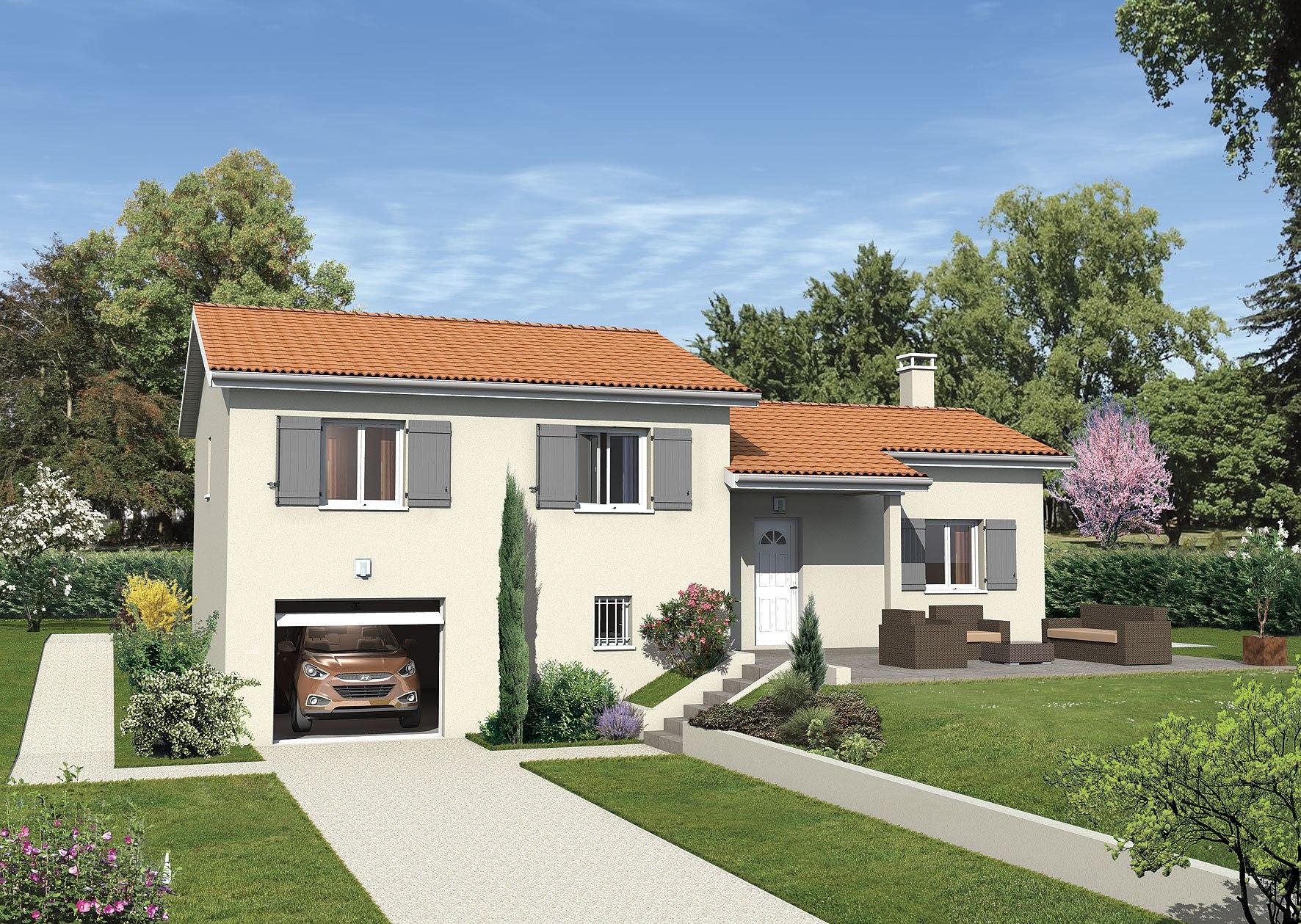 Maisons + Terrains du constructeur MAISONS PUNCH BOURGOIN • 80 m² • BIOL