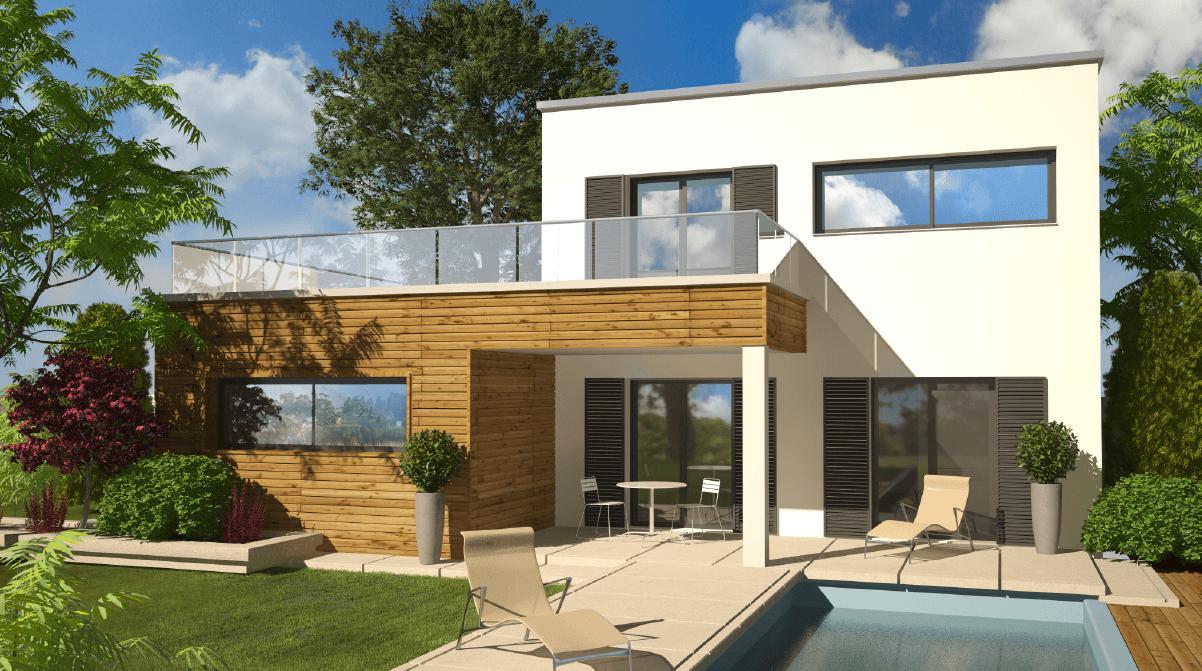 Maisons + Terrains du constructeur DEMEURES CALADOISES BRON • 110 m² • FLEURIEUX SUR L'ARBRESLE