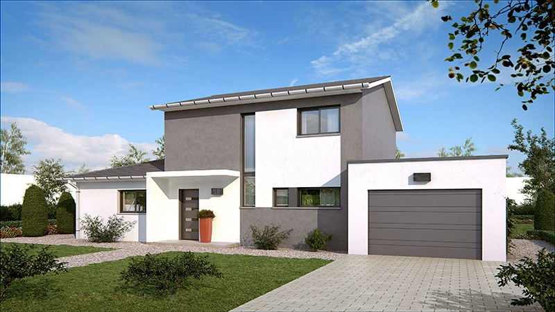 Maisons + Terrains du constructeur DEMEURES CALADOISES BRON • 130 m² • FLEURIEU SUR SAONE