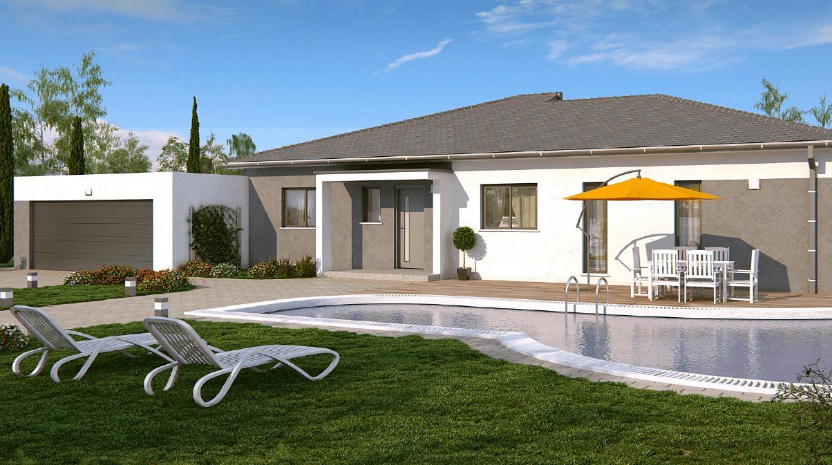 Maisons + Terrains du constructeur DEMEURES CALADOISES BRON • 145 m² • MEXIMIEUX