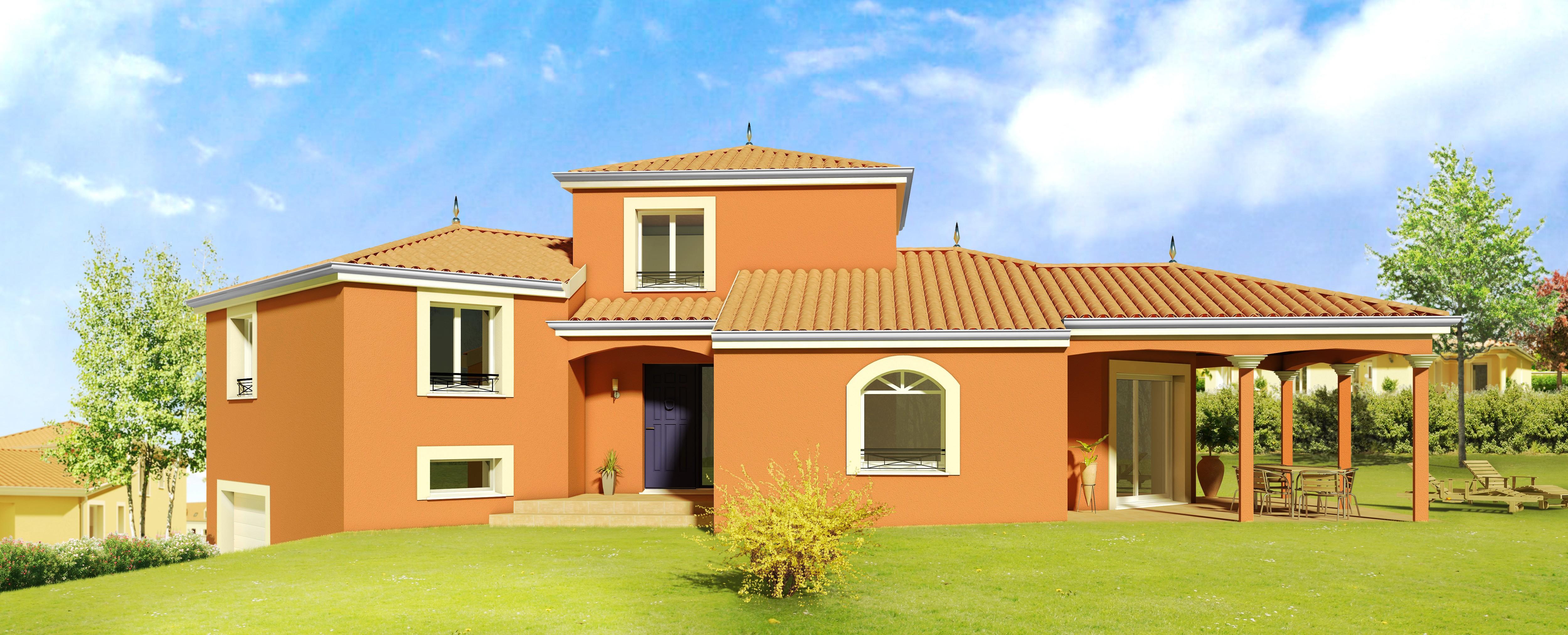 Maisons + Terrains du constructeur DEMEURES CALADOISES • 122 m² • SAINT ONDRAS