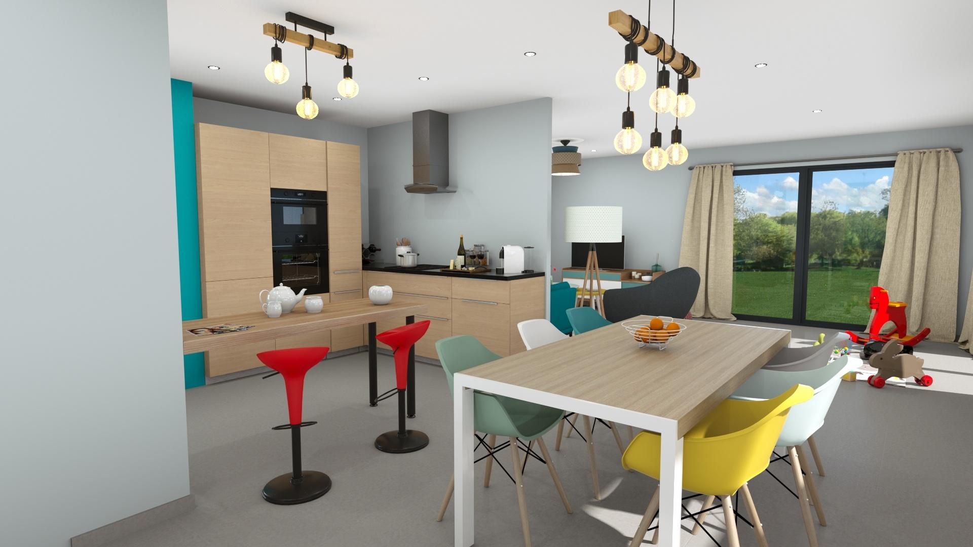 Maisons + Terrains du constructeur DEMEURES CALADOISES • 120 m² • LE PONT DE BEAUVOISIN