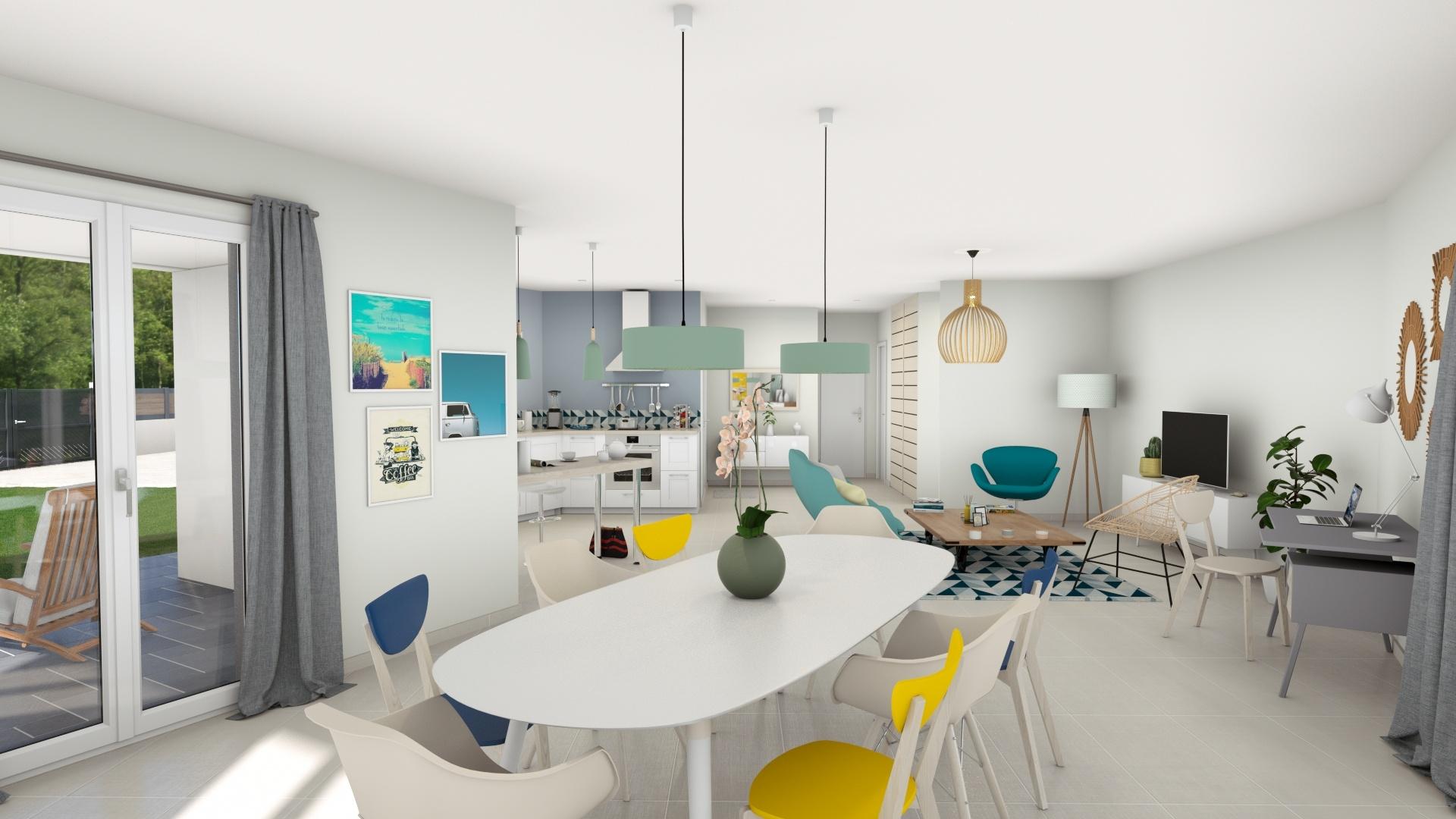 Maisons + Terrains du constructeur DEMEURES CALADOISES • 114 m² • DOLOMIEU