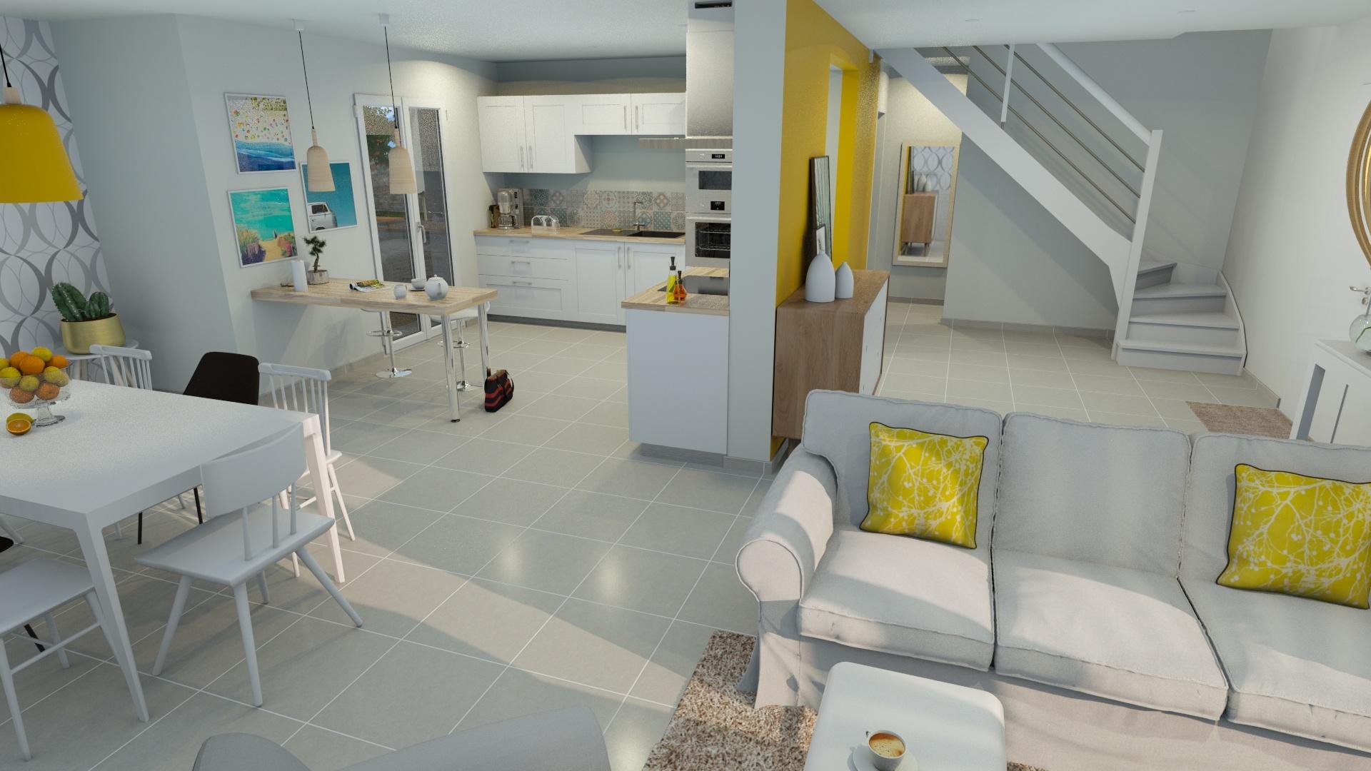 Maisons + Terrains du constructeur DEMEURES CALADOISES • 116 m² • LA TOUR DU PIN