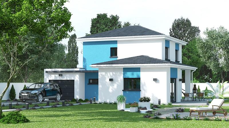 Maisons + Terrains du constructeur DEMEURES CALADOISES • 121 m² • SAINTE BLANDINE