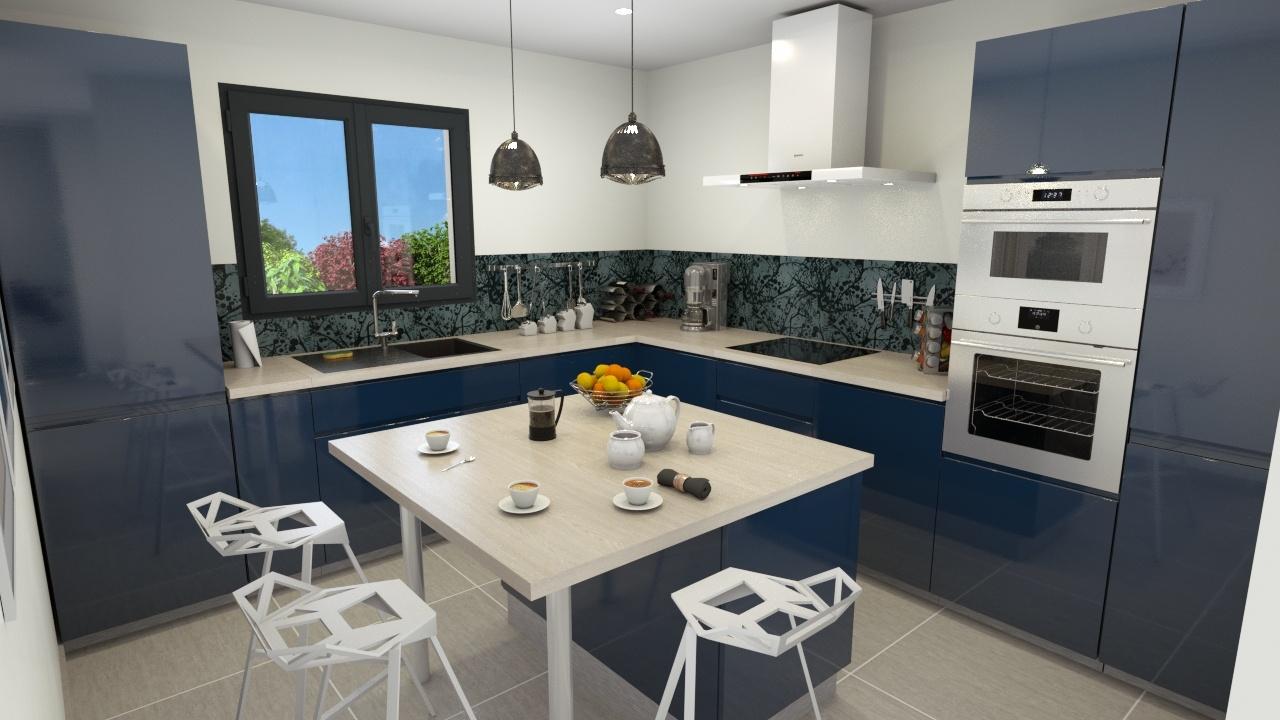 Maisons + Terrains du constructeur DEMEURES CALADOISES • 90 m² • BADINIERES