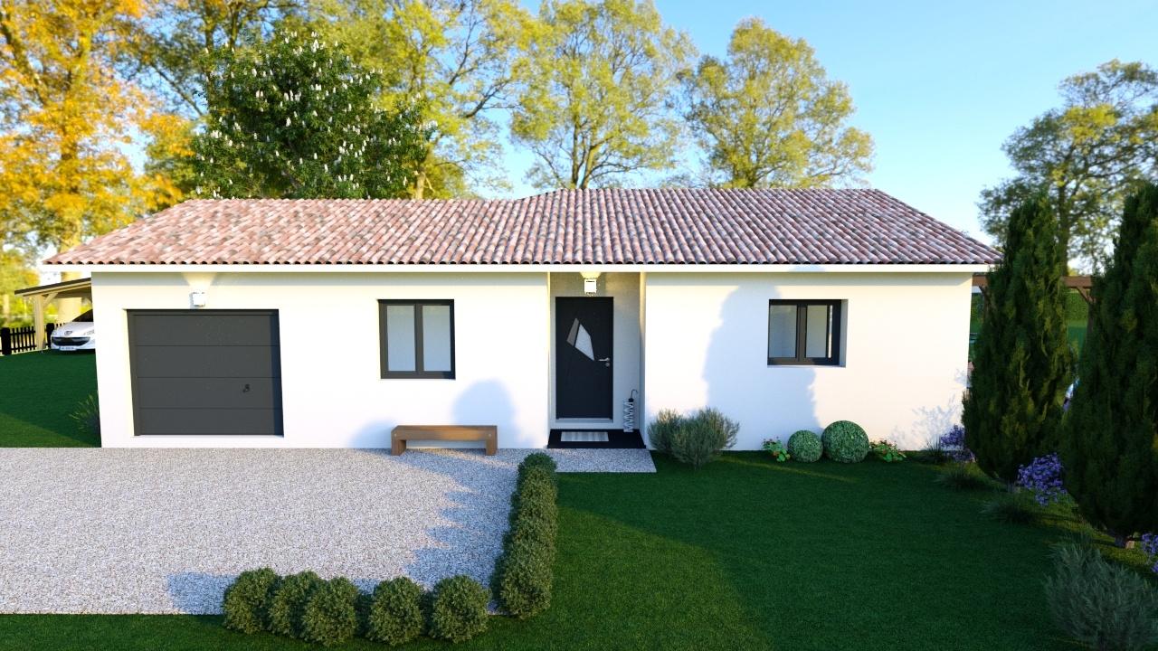 Maisons + Terrains du constructeur DEMEURES CALADOISES • 108 m² • AZE
