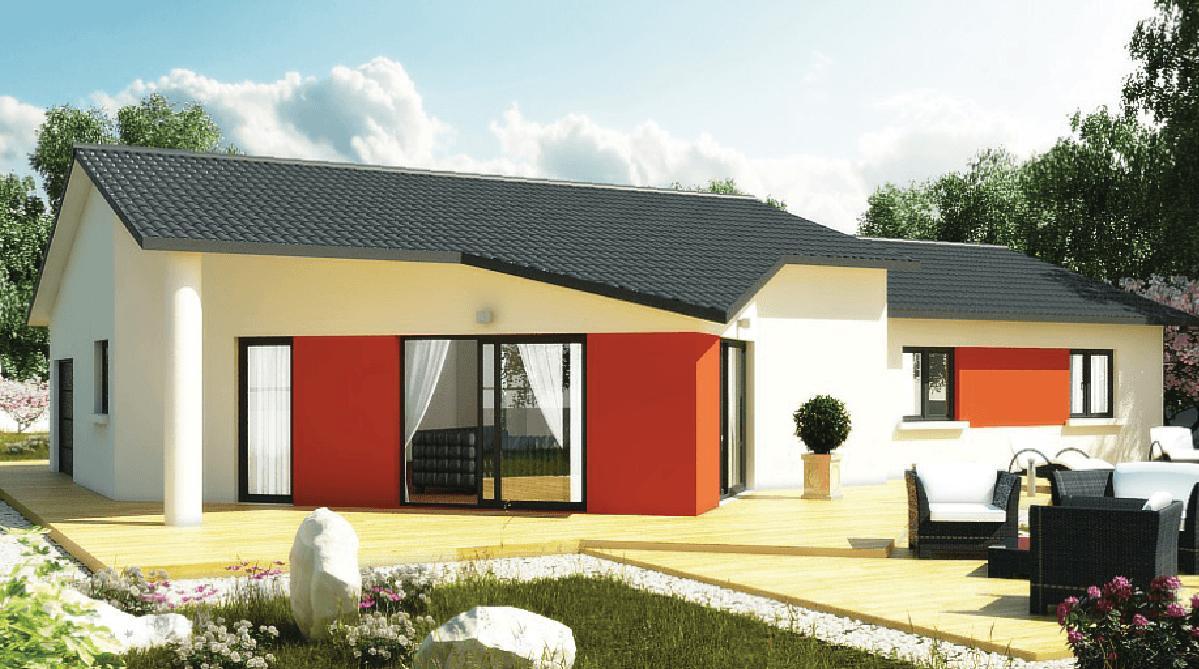 Maisons + Terrains du constructeur DEMEURES CALADOISES • 119 m² • SAINT SYMPHORIEN D'ANCELLES