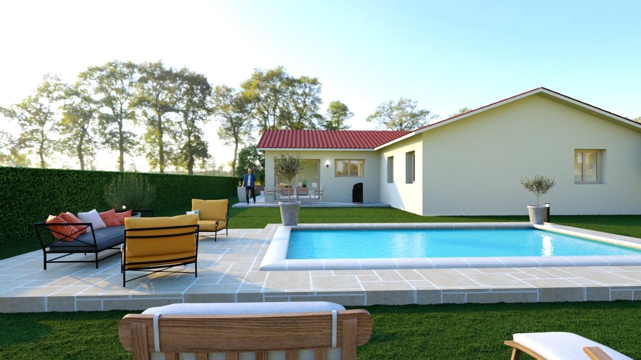 Maisons + Terrains du constructeur DEMEURES CALADOISES • 110 m² • SAINT ALBAIN