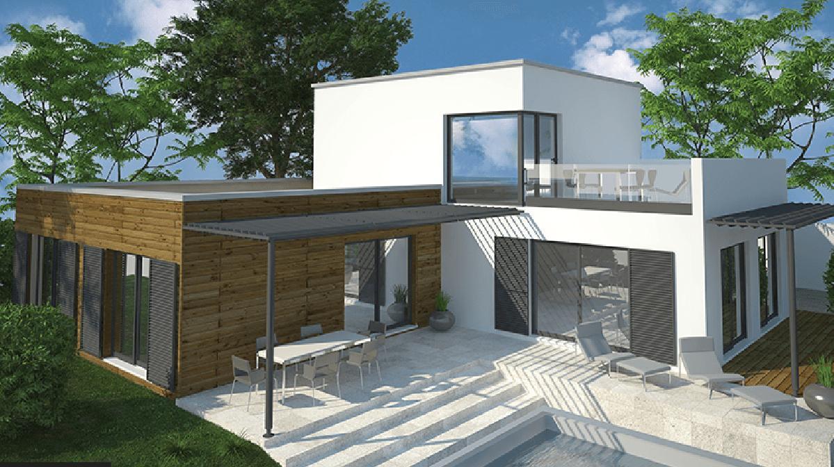 Maisons + Terrains du constructeur DEMEURES CALADOISES • 151 m² • CHEVAGNY LES CHEVRIERES