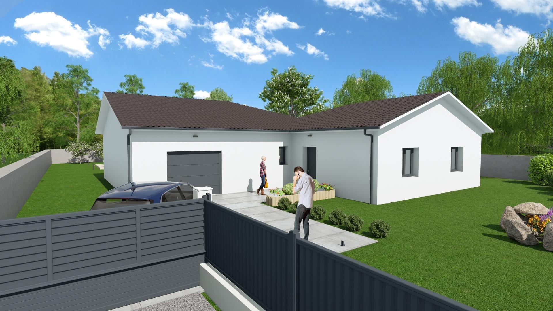Maisons + Terrains du constructeur DEMEURES CALADOISES • 111 m² • MARBOZ