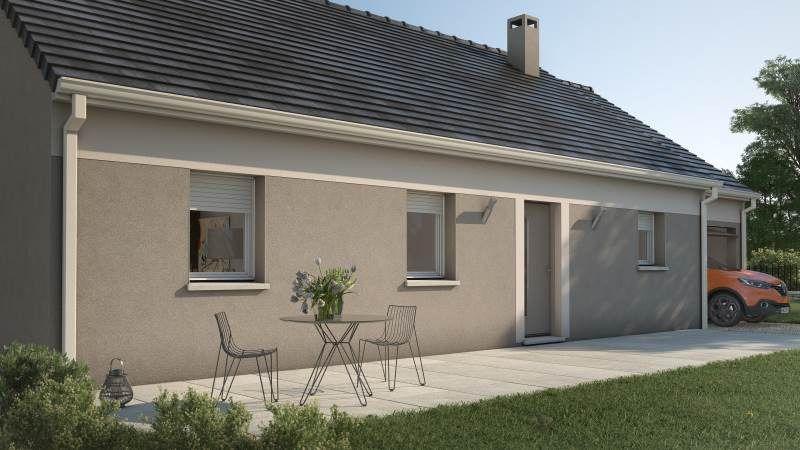 Maisons + Terrains du constructeur MAISONS FRANCE CONFORT • 92 m² • FIERVILLE LES PARCS