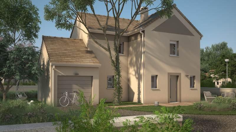 Maisons + Terrains du constructeur MAISONS FRANCE CONFORT • 90 m² • HOULGATE
