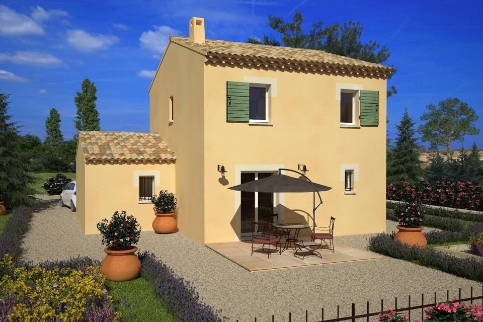 Maisons + Terrains du constructeur MAISONS FRANCE CONFORT • 88 m² • VIAS