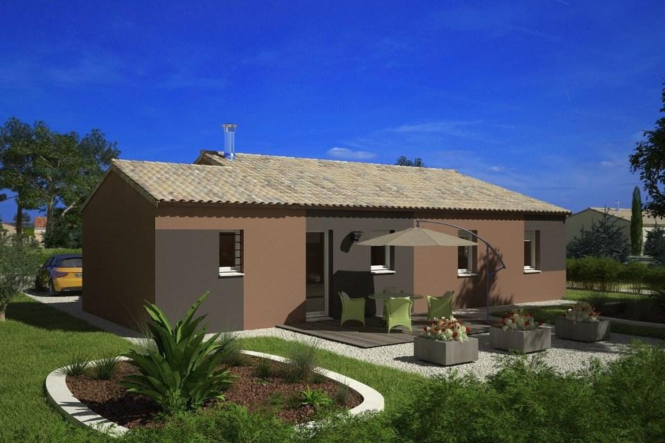 Maisons + Terrains du constructeur MAISONS FRANCE CONFORT • 60 m² • FLORENSAC