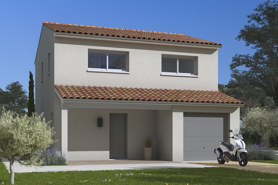 Maisons + Terrains du constructeur MAISONS FRANCE CONFORT • 85 m² • MARAUSSAN