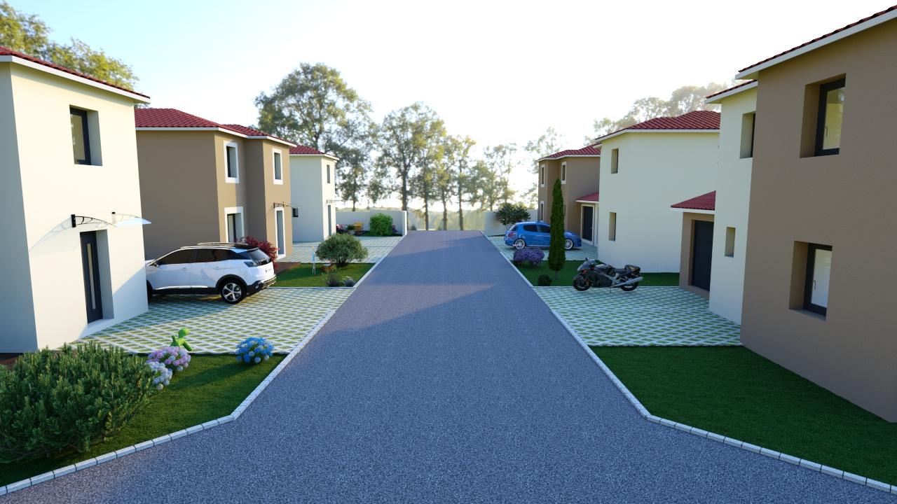 Maisons du constructeur PROJECOM • 81 m² • MONTBRISON