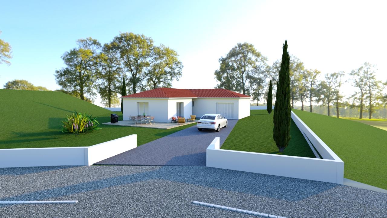 Maisons + Terrains du constructeur PROJECOM • 95 m² • FEURS