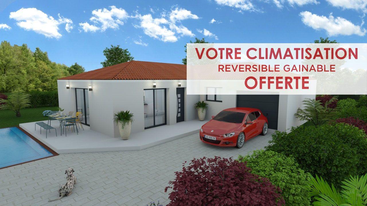 Maisons + Terrains du constructeur ART ET TRADITIONS MEDITERRANEE • 95 m² • SERNHAC