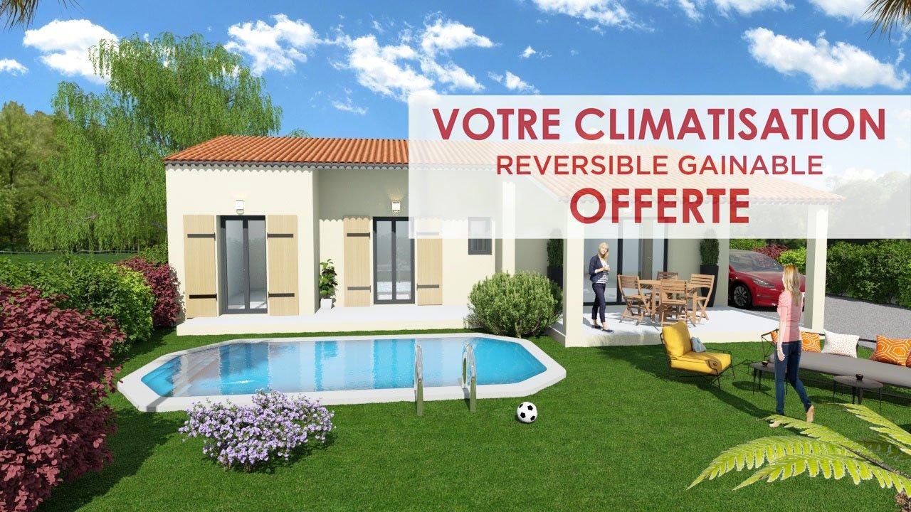 Maisons + Terrains du constructeur ART ET TRADITIONS MEDITERRANEE • 85 m² • SALAZAC
